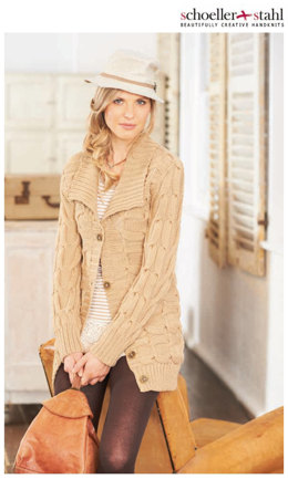 Ladies' Jacket in Schoeller und Stahl Merino Mix - 11305