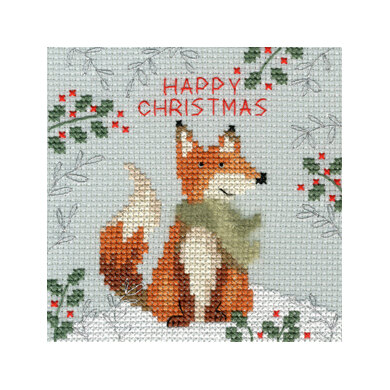 Bothy Threads Xmas Fox Cross Stitch Kit