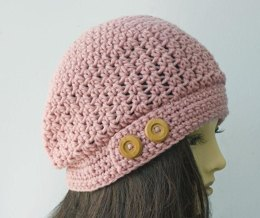 e56bc1b44ad Slouch Hat with Buttons