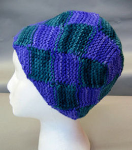 The Geodesic Dome Hat in Artyarns Supermerino - P66