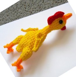 Rubber Chicken amigurumi