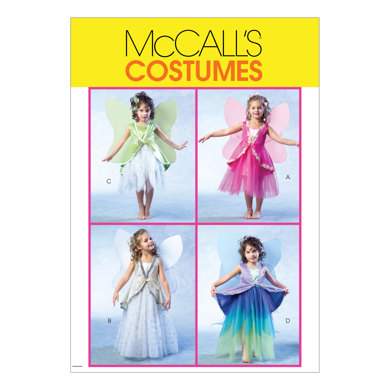 McCall's Children's/Girls' Fairy Costumes M4887 - Sewing Pattern