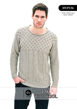 Sweater in DY Choice DK With Wool - DYP136