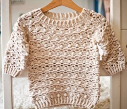 Waves and Bobbles Sweater