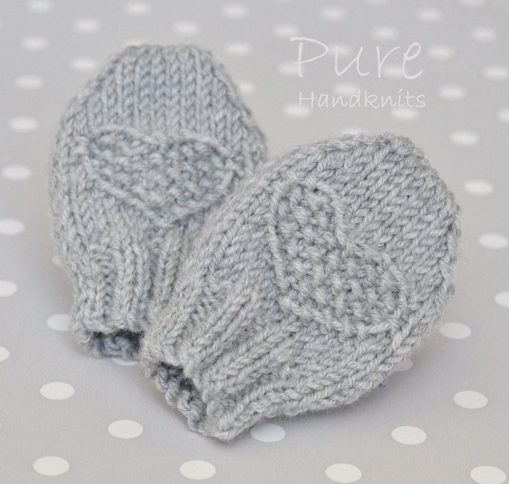 Preemie and Newborn Baby Mittens 'Fay' Knitting pattern by ...