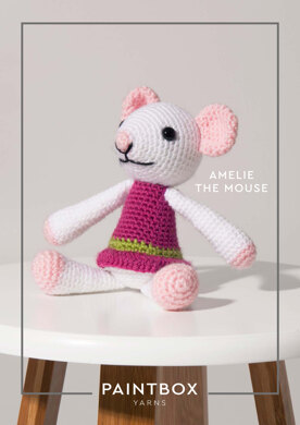 Amelie the Mouse in Paintbox Yarns Simply DK - 007 - Downloadable PDF
