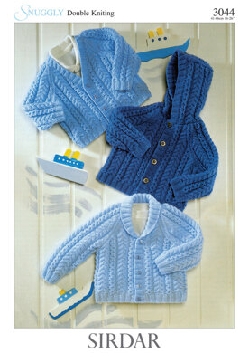 403dd52a4 Babies and Children Jackets in Sirdar Snuggly DK - 3044 ...