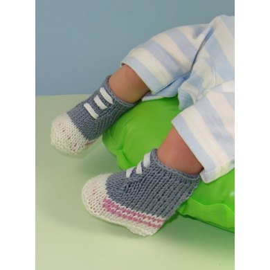 Baby Simple Basketball Boots Booties