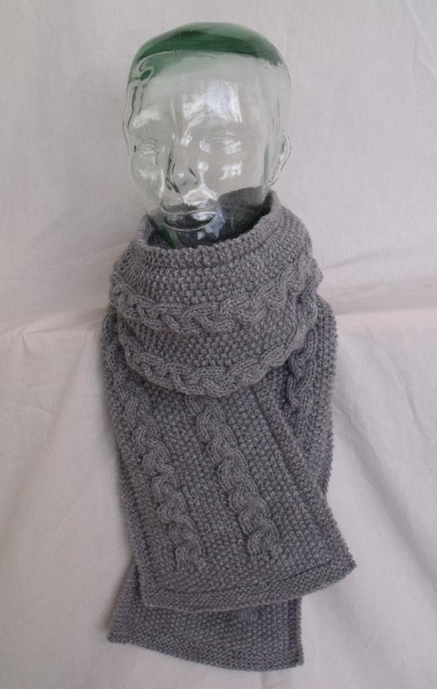 Knit A Cable Scarf Knitting Pattern By Janis Frank