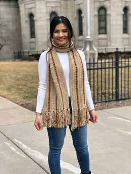 Twin cities spring scarf