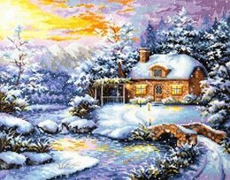 Magic Needle Winter's Tale Cross Stitch Kit