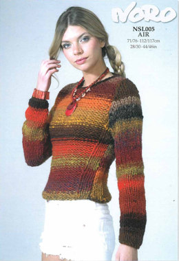 Sweater in Noro Kureyon Air - NSL005