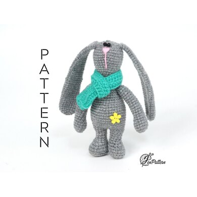 Holland Lop Rabbit pattern by Claire Garland | Rabbit knitting ... | 390x390