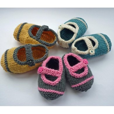 Avery Single Strap Baby Shoes