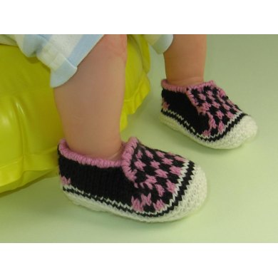 Baby Check deck Shoes