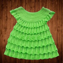 Green Girl Dress