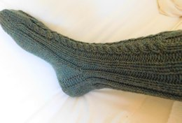 Winter Cabled Socks