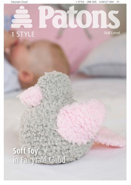 Soft Toy in Patons Fairytale Cloud
