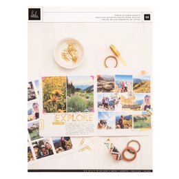 American Crafts Heidi Swapp - Storyline Chapters Matte Photo Paper