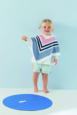 Yoline Poncho in Phildar Phil Love Cotton - Downloadable PDF