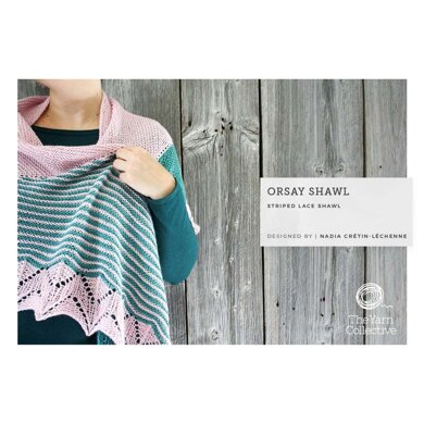 Orsay Shawl by Nadia Crétin-Léchenne in The Yarn Collective - Downloadable PDF