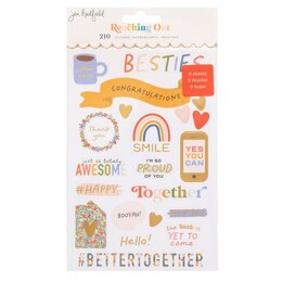 American Crafts Jen Handfield - Reaching out Sticker Book