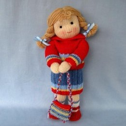 Tilly - Knitted Doll