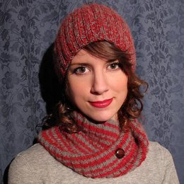 Knit Headband - twisted Cowl