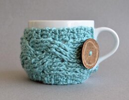 Crochet Cup Cozy, Coffee Cozy