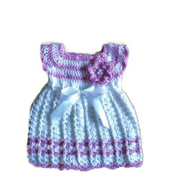 Flower power baby dress