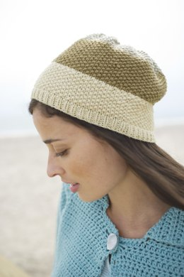 Seed Stitch Hat in Lion Brand Cotton-Ease - 90446AD