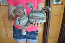Opal Sock Yarn Bunny and Hat Set