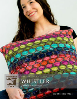 Whistler Pillow in Juniper Moon Moonshine and Moonshine Trios - J8-08 - Downloadable PDF