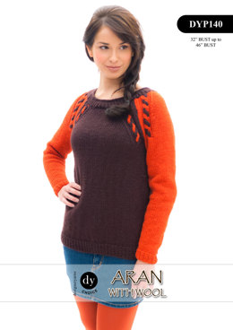 Jumper in DY Choice Aran With Wool - DYP140