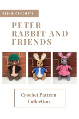 Peter Rabbit and Friends Amigurumi Dolls