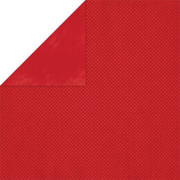 """American Crafts BoBunny Double Dot Double-Sided Textured Cardstock 12""""X12"""" 25/Pkg - Wild Berry"""