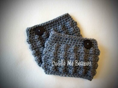 Bobble Boot Cuff Crochet Pattern By April Bennett