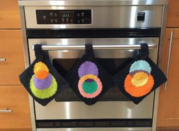 KGeometry: Three Pot Holders with Circles