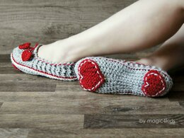 Valentine slippers