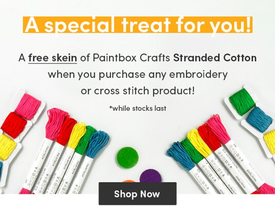 Paintbox Crafts Stranded Cotton - a FREE skein for your purchase!