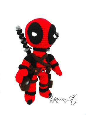 Deadpool doll - new version