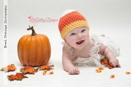 Candy Corn Beanie (Newborn - Adult)