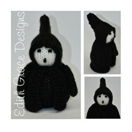 Ghost of Christmas Future Doll - Toy Knitting Pattern