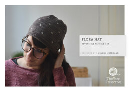 """""""Flora Hat by Melody Hoffmann"""" - Hat Knitting Pattern For Women in The Yarn Collective"""