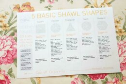 5 Circular Shawl Shapes Cheatsheet