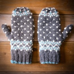 Icy Trails Mittens