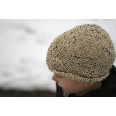 Arrow Toque Knitting Pattern By Jenise Hope Knitting Patterns
