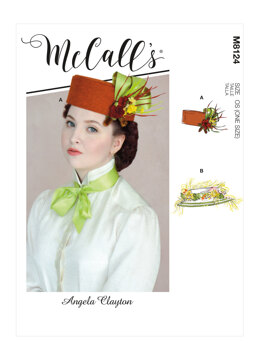 McCall's Misses' Hat M8124 - Sewing Pattern