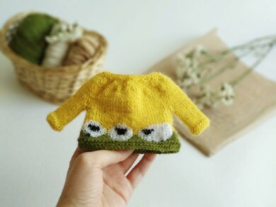 Baa-Blee Sweater for toy or doll