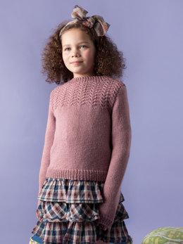 Anissa Sweater in Rowan Pure Wool Worsted